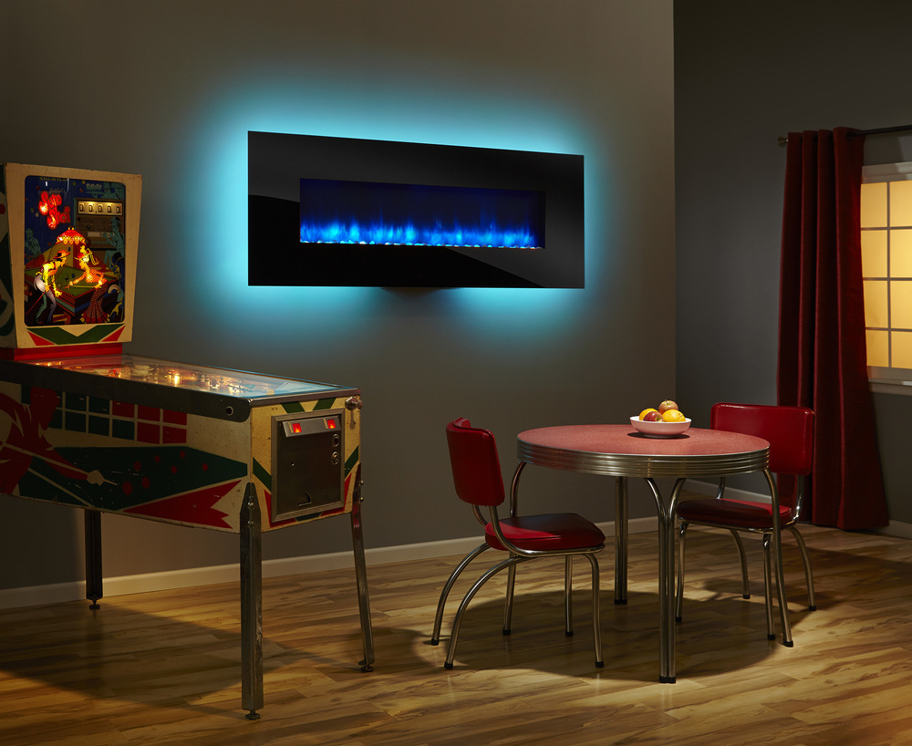 SimpliFire Wall Mount 70 - Photo (Black, Blue Flame, Aqua Light, Color Low Res).jpg