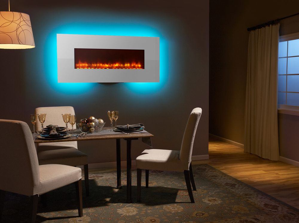 SimpliFire Wall-Mount 58 - Photo (White, Aqua, Orange Flame, 4C Low Res).jpg