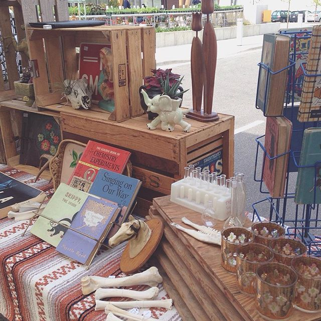 Big thanks to everyone who came out to the @vintagestreetmarket today. See you on June 12th! #vintage #midcentury #oddities #kitsch #homedecor #fleamarket #grandrapids #michigan