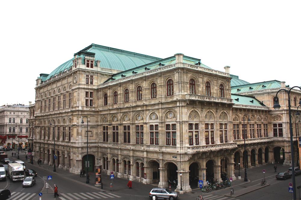 State Opera in Vienna, Austria