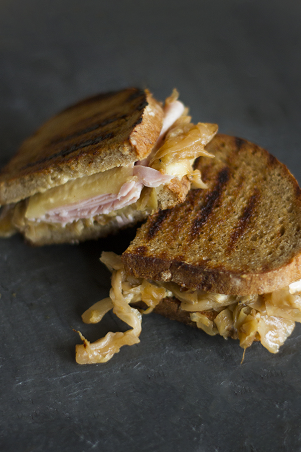 Apple Cabbage Reubens