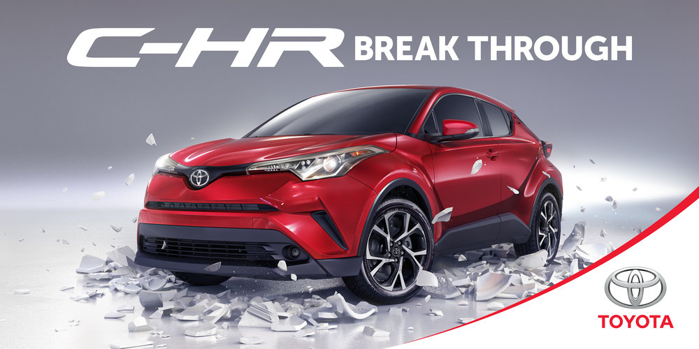 Client • Toyota  Agency • Saatchi & Saatchi  Art Director • Christian Buer  CGI • Brad Pickard