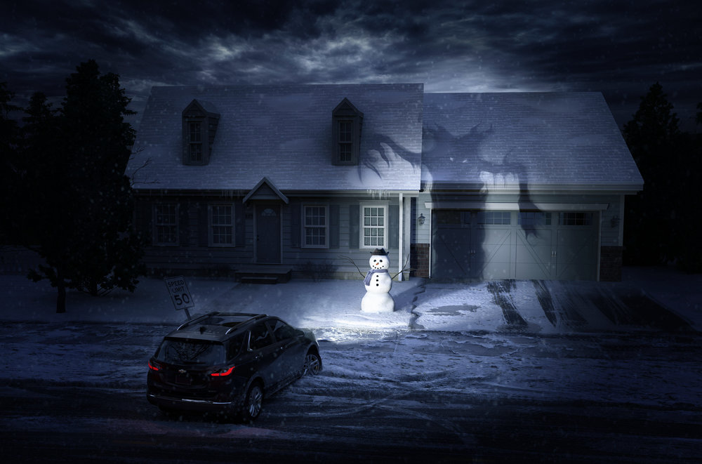 Client • GM  Agency • Isobar  CGI • Brad Pickard