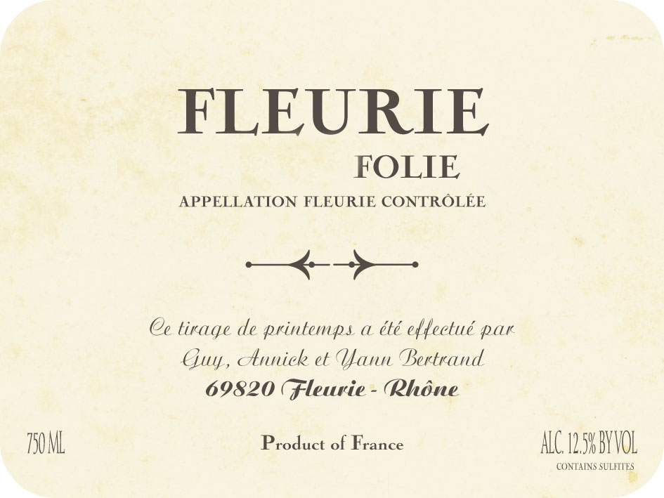 100414-2FLEURIE COUP D'FOLIE BERTRAND