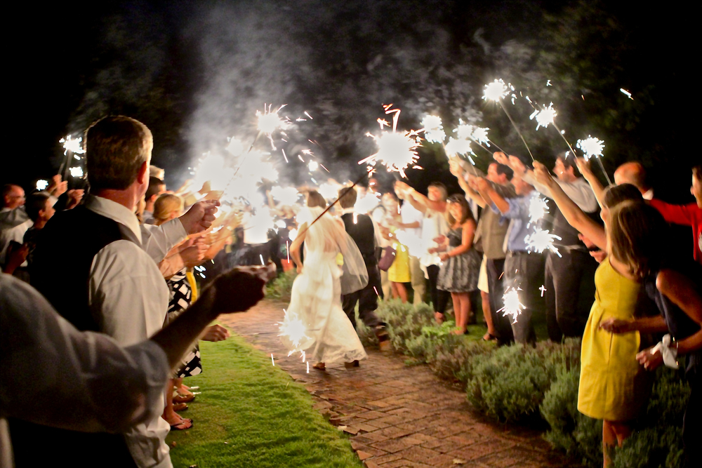 Maple Grove Inn  Sparkler Exit