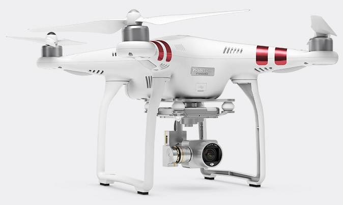 Our DJI Phantom 3