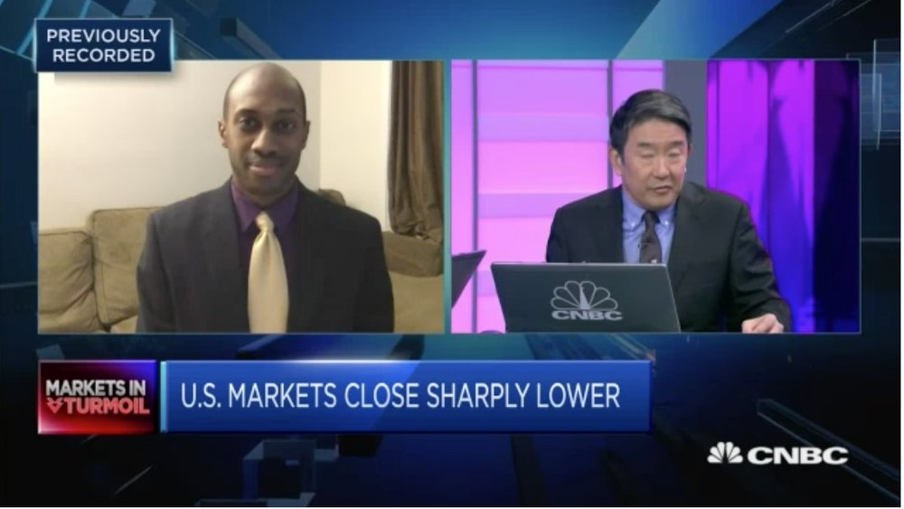 CNBC Interviewed by: Tsao Lin FOCUS: Interest Rate Effect on Market