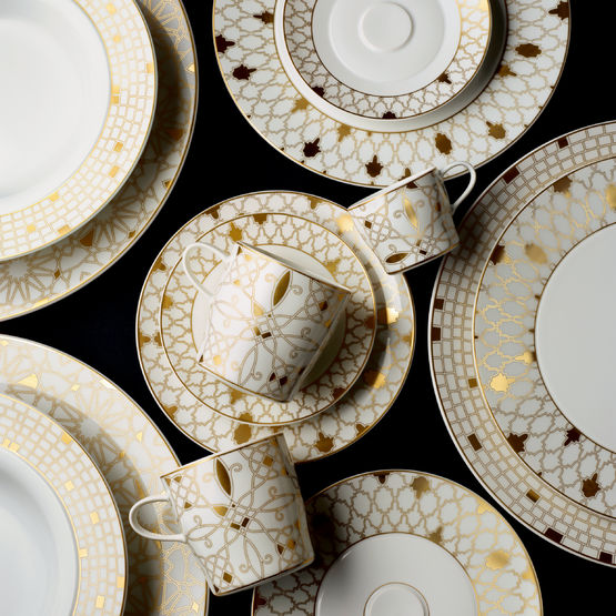 Golden Rule - Christmas festive tableware by Fuerstenberg | MSH Agency.jpg