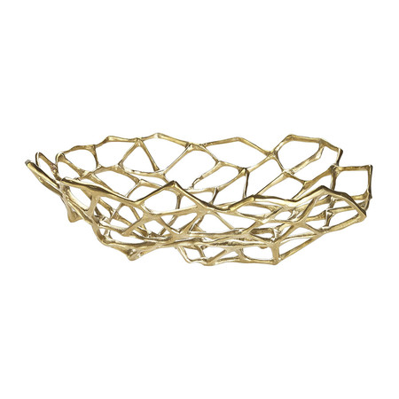 Golden Rule - Bone bowl in brass by Tom Dixon | MSH Agency.jpg