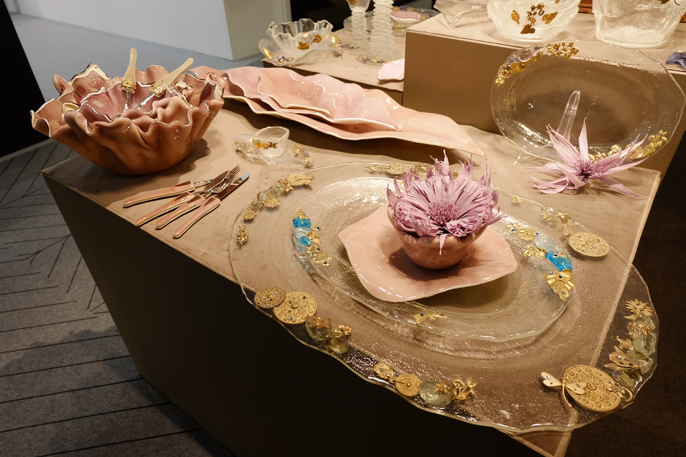 Maison & Objet 2016 Highlights - Gold inserts in tableware | MSH Agency