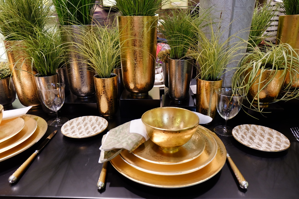 Maison & Objet 2016 Highlights - Gold tone tableware and  home accessories | MSH Agency