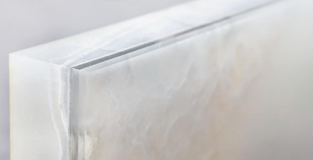 Dedalo Stone - Alabaster and glass detail | Masha Shapiro Agency.JPG