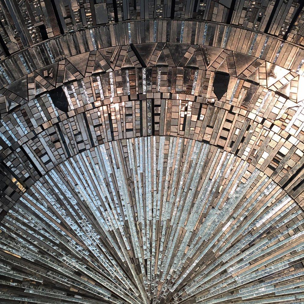 Decorex 2016 - Sicis stunning wall mosaic | Masha Shapiro Agency.JPG