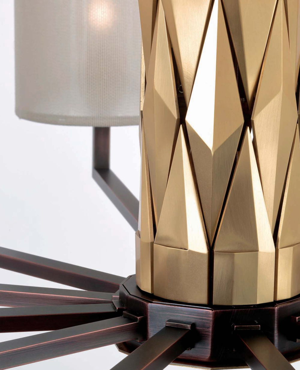 Officina Luce Flaire lights with burnished and natural brass finish detail | Masha Shapiro Agency.png