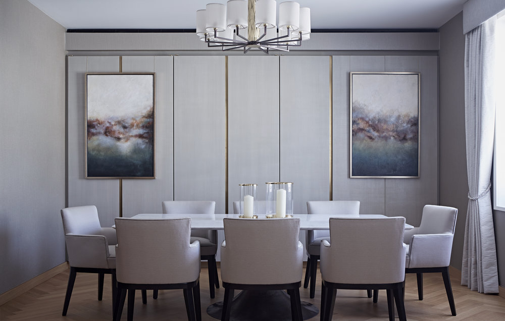 Officina Luce for Taylor Howes One Kensington Gardens project - Dining Room | Masha Shapiro Agency.jpg