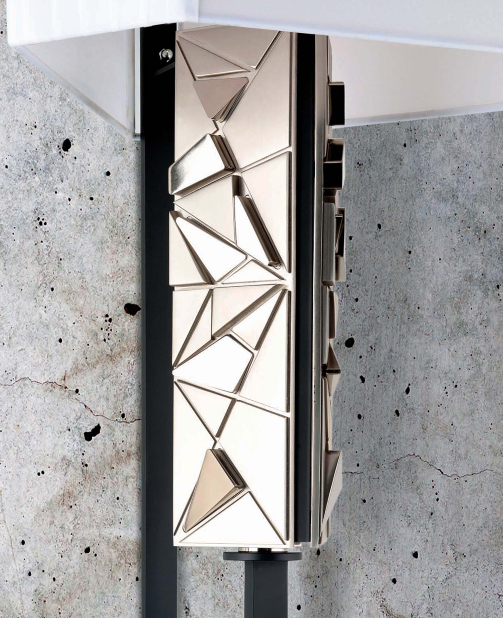 Officina Luce Crea wall light in nickel detail | Masha Shapiro Agency.png