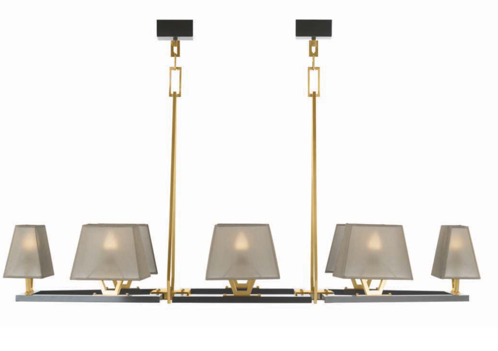 Officina Luce Trapeze chandelier | Masha Shapiro Agency.png