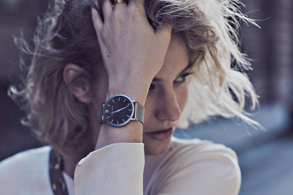 tibi-leather-skirt-silver-watch-larsson-jennings-chain-Masha Shapiro Agency.jpg