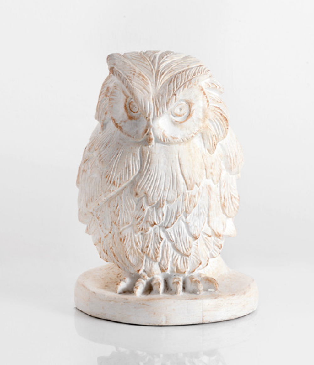Interiors Advent Calendar - Chelini Owl home decor @ Masha Shapiro Agency.png