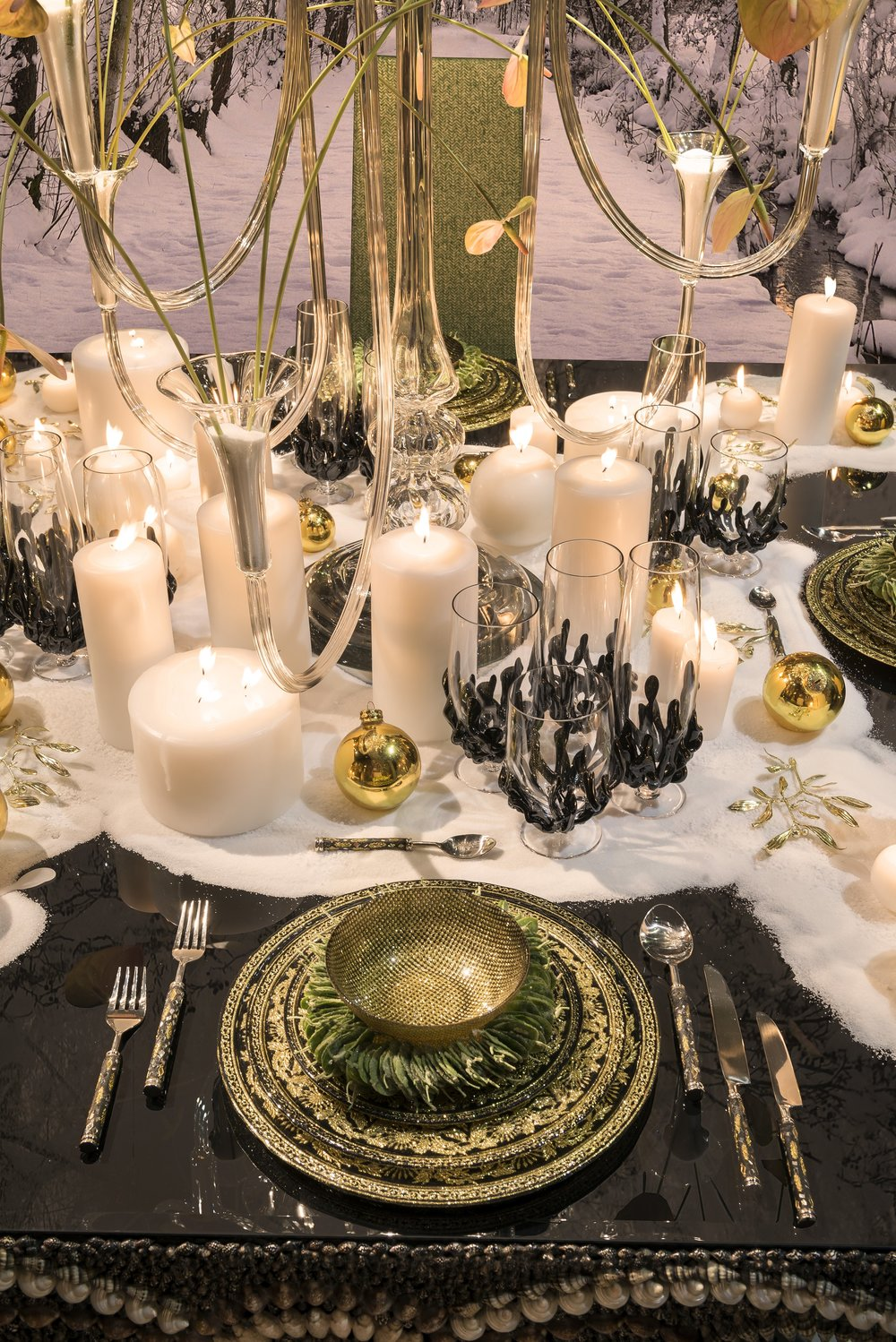 Interiors Advent Calendar - Christmas table decorations by VG New Trend @ Masha Shapiro Agency.jpg