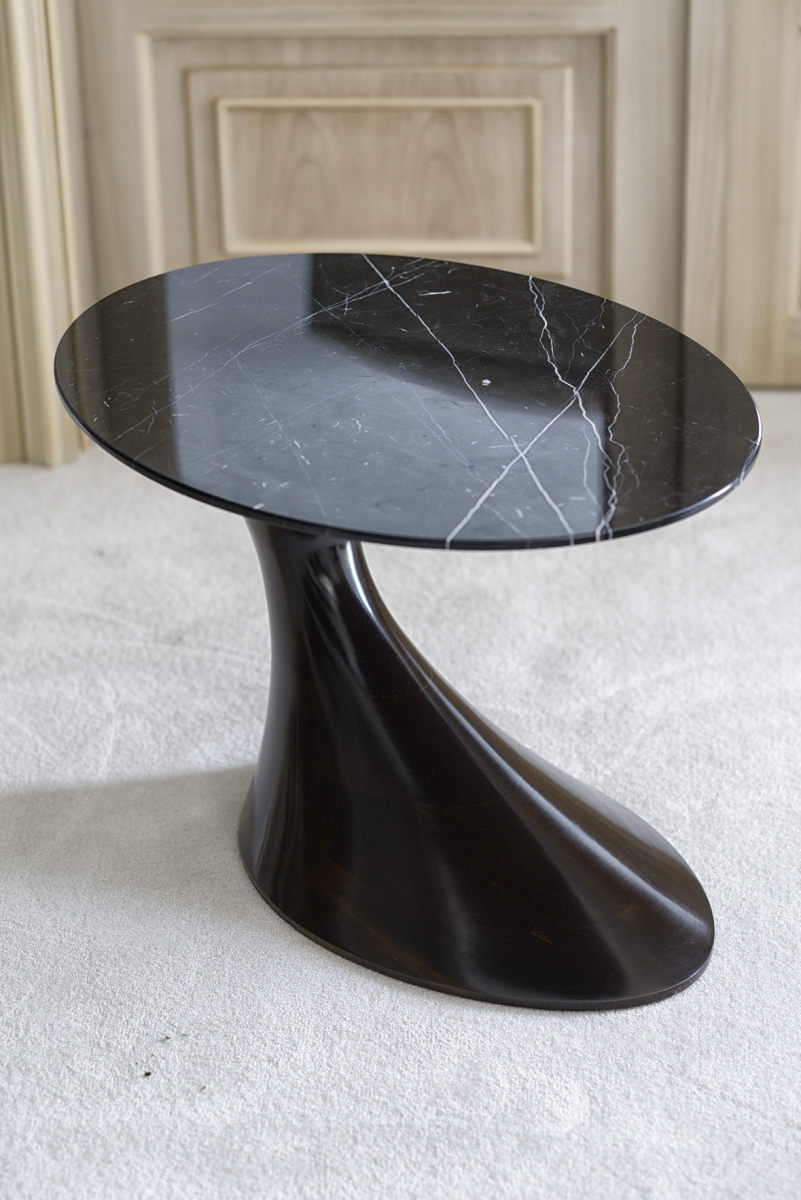 Interiors Advent Calendar - Annibale Colombo side table wit marble top @ Masha Shapiro Agency.jpg
