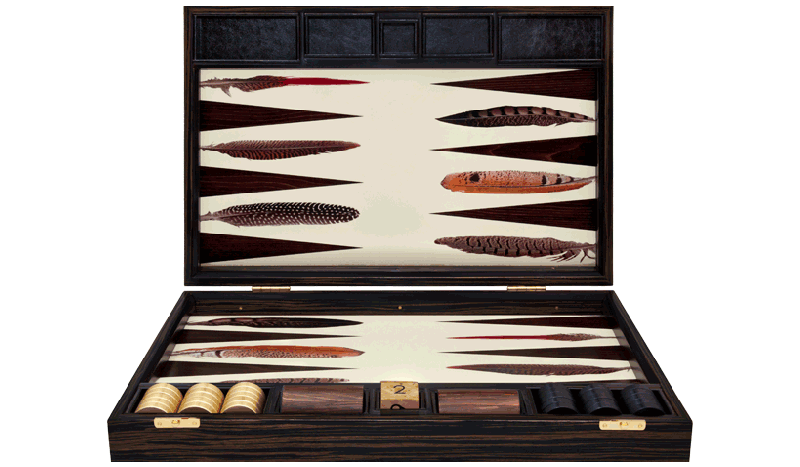 Interiors Advent Calendar - Bespoke Backgammon by Alexandra Llewellyn @ Masha Shapiro Agency.jpg