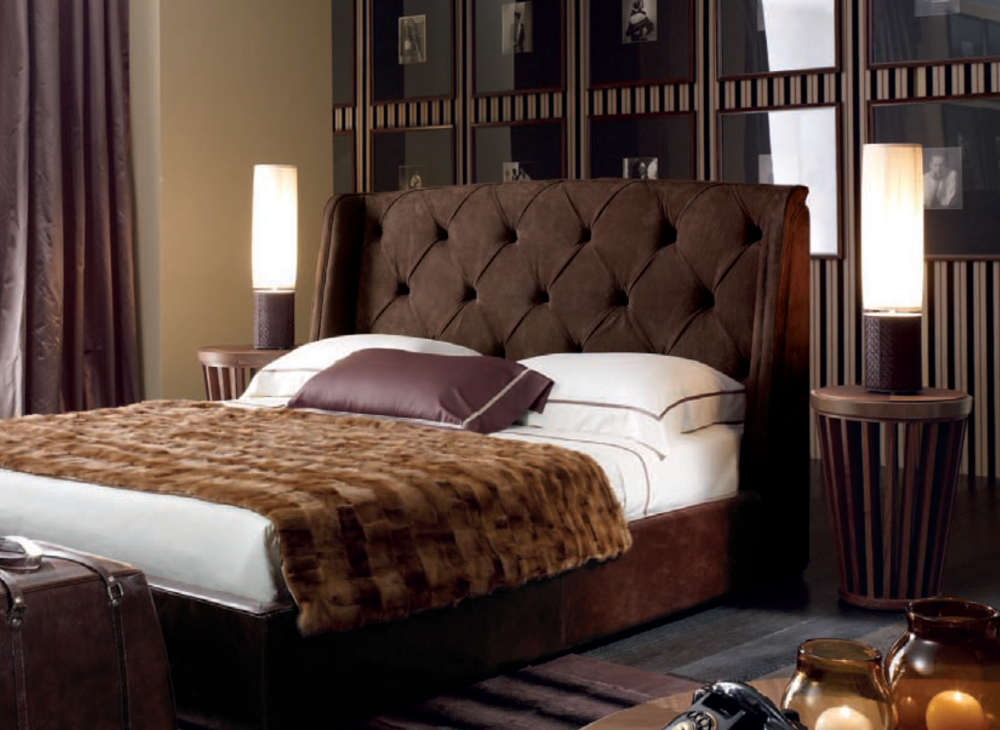 Ulivi Salotti bedroom furniture - An Ode to Leathers @ Masha Shapiro Agency.jpg