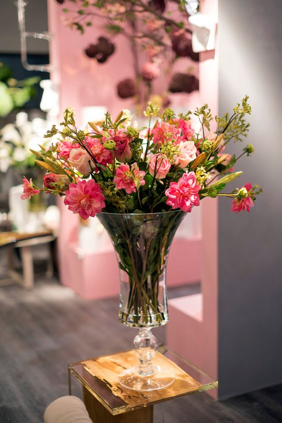 Floral arrangements in a vase by VG New Trend - Masha Shapiro Agency.jpg