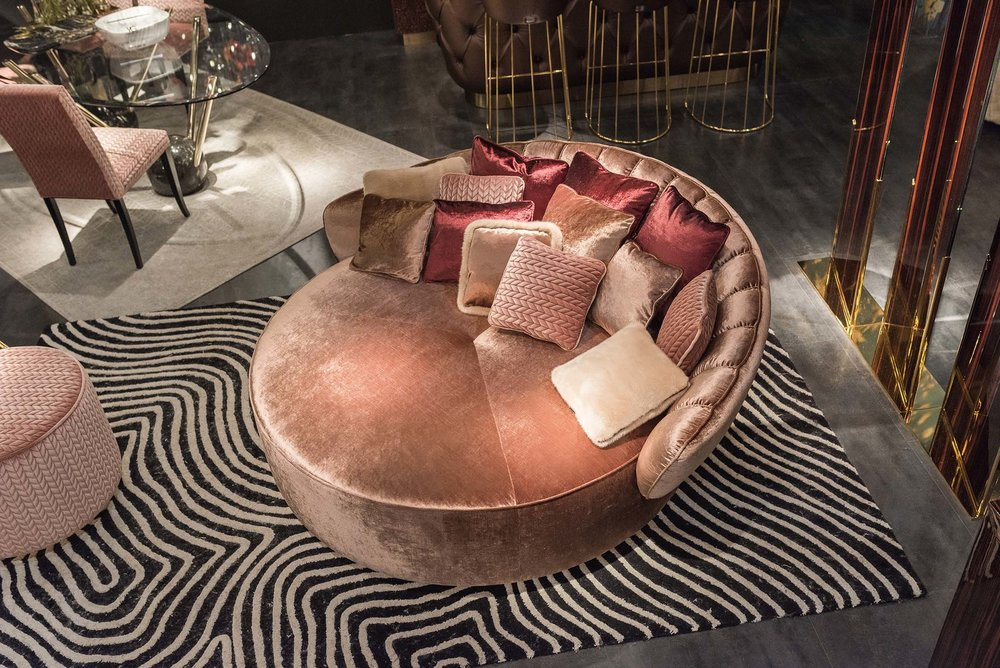 VG New Trend love seat at Salone del Mobile via Masha Shapiro Agency UK.jpg