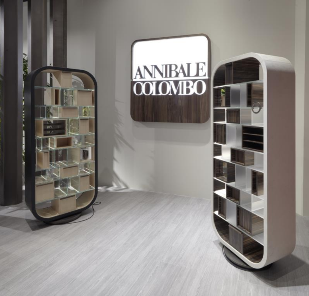 Annibale Colombo presented Mettittuto storage at Salone del Mobile 2017 - Masha Shapiro Agency UK .png