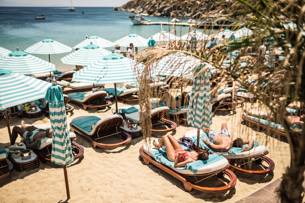 Seora Features In The Best Beach Club In The World Nammos Mykonos Beach - Masha Shapiro Agency UK.jpg