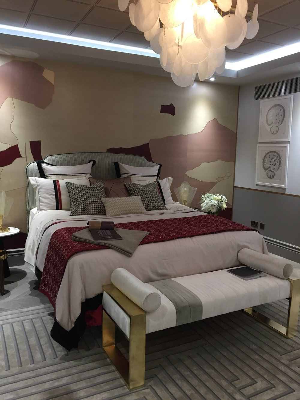 Holiday House London, An Interior Design Event With A Cause - Shalini Misra Marooned in Marocco Bedroom.JPG