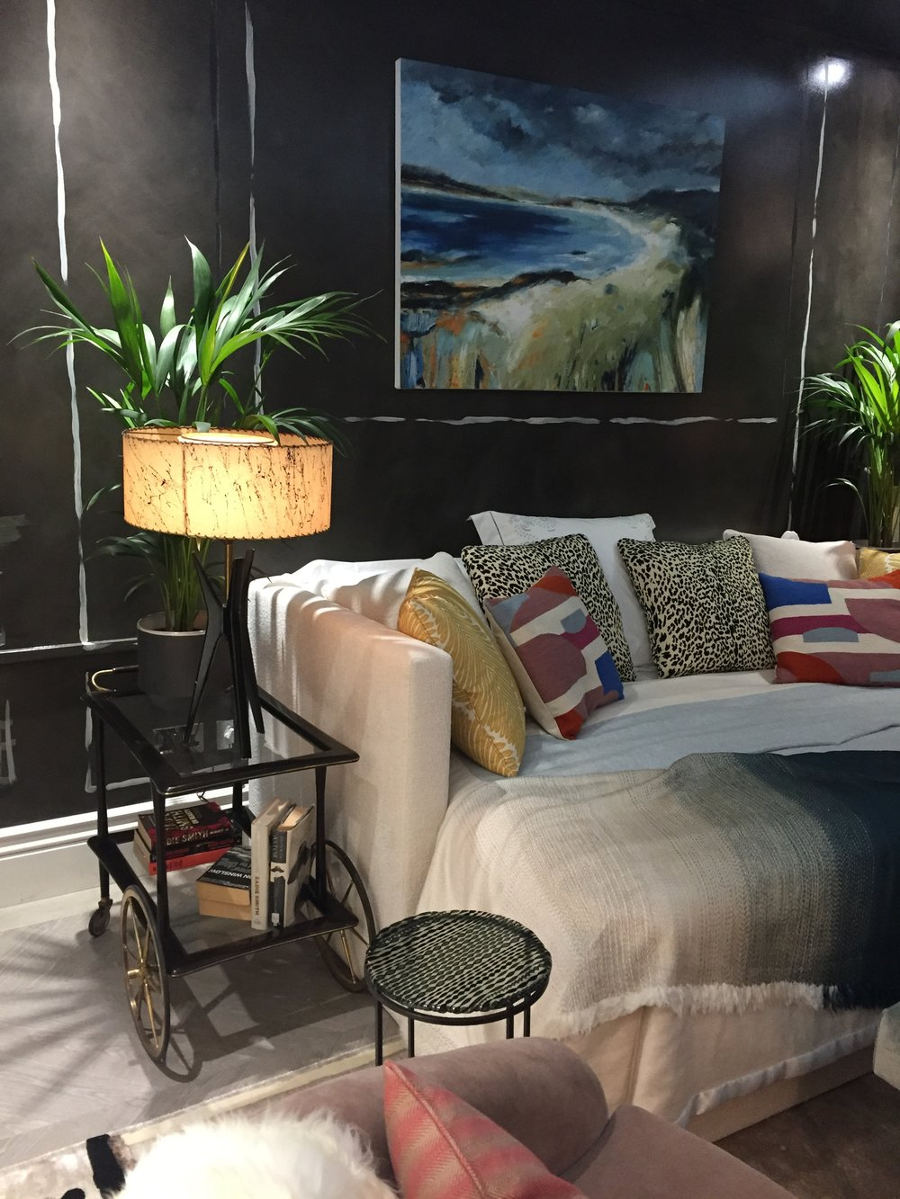 Holiday House London, An Interior Design Event With A Cause - Nocturne in Grey & Silver by Studio QD and Nicky Haslam JPG.JPG