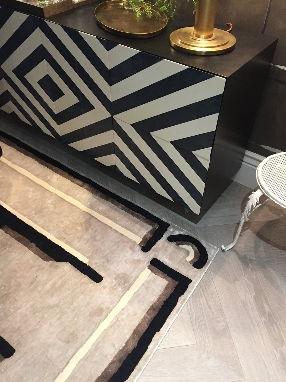 Holiday House London, An Interior Design Event With A Cause - Nocturne in Grey & Silver flooring detail by Studio QD and Nicky Haslam.JPG