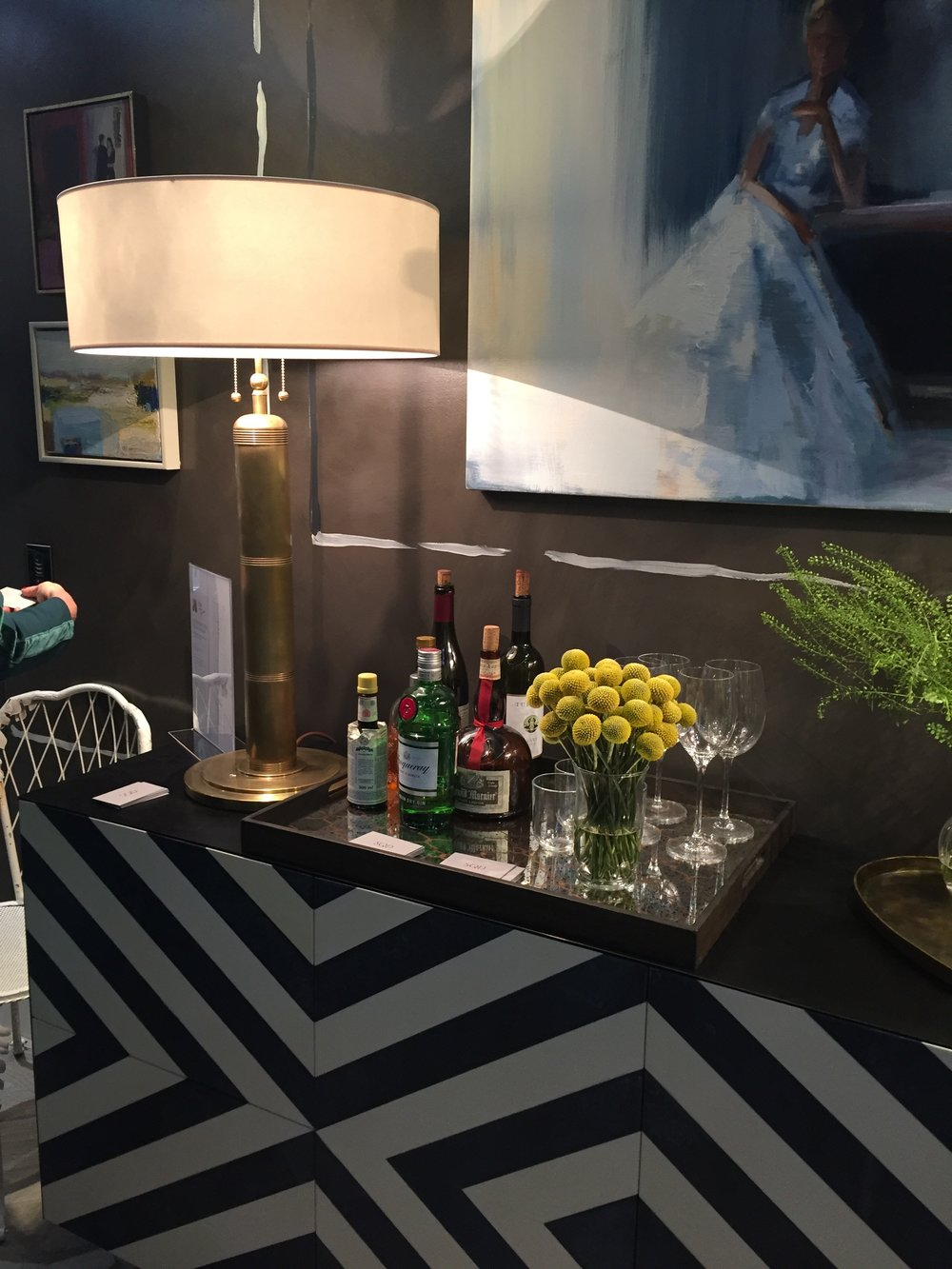 Holiday House London, An Interior Design Event With A Cause - Nocturne in Grey & Silver minibar by Studio QD and Nicky Haslam .JPG