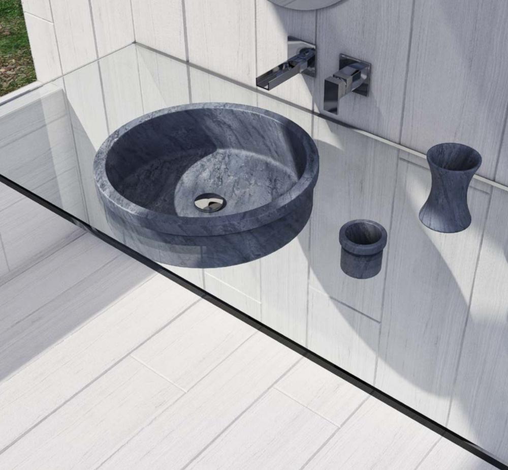Tech in Interiors - Dedalo Stone marble washbasin on a flying glass shelf - Masha Shapiro Agency UK.png