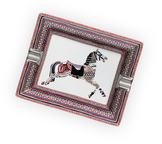 Interiors Advent Calendar - Cheval d'Apparat tray by Hermes - Masha Shapiro Agency UK.jpg