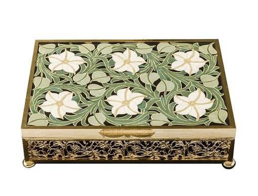 Interiors Advent Calendar - Luxury Hinged Jewellery Box by Bianco Bianchi.jpg