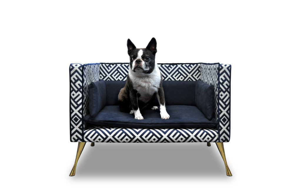 Interiors Advent Calendar - Luxurious dog bed by Savoir Beds - Masha Shapiro Agency UK.jpg