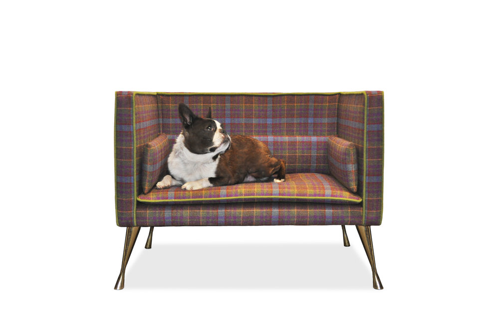 Interiors Advent Calendar - Stunning dog bed by Savoit London - Masha Shapiro Agency UK.jpg