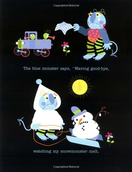 Glad Monster, Sad Monster. Anne Miranda.