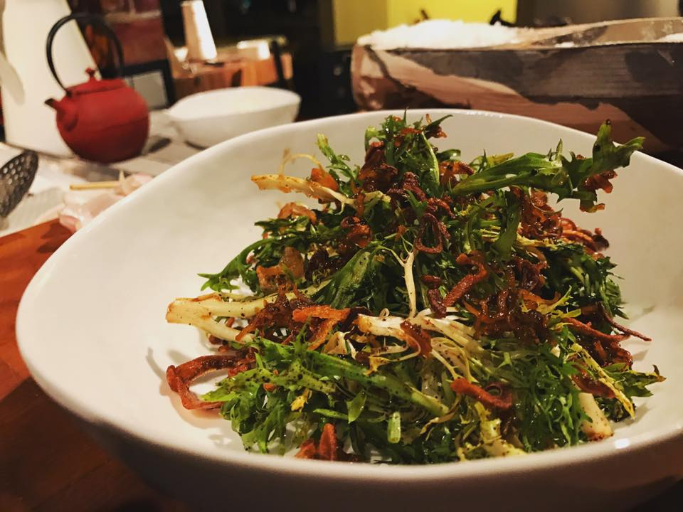 Frisée Salad with Anchovies