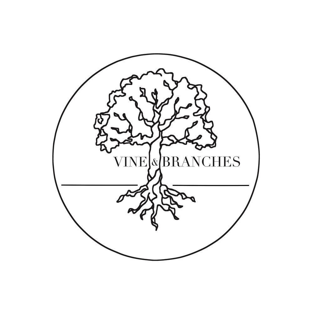 Logo Design for Vine & Branches Woodworking