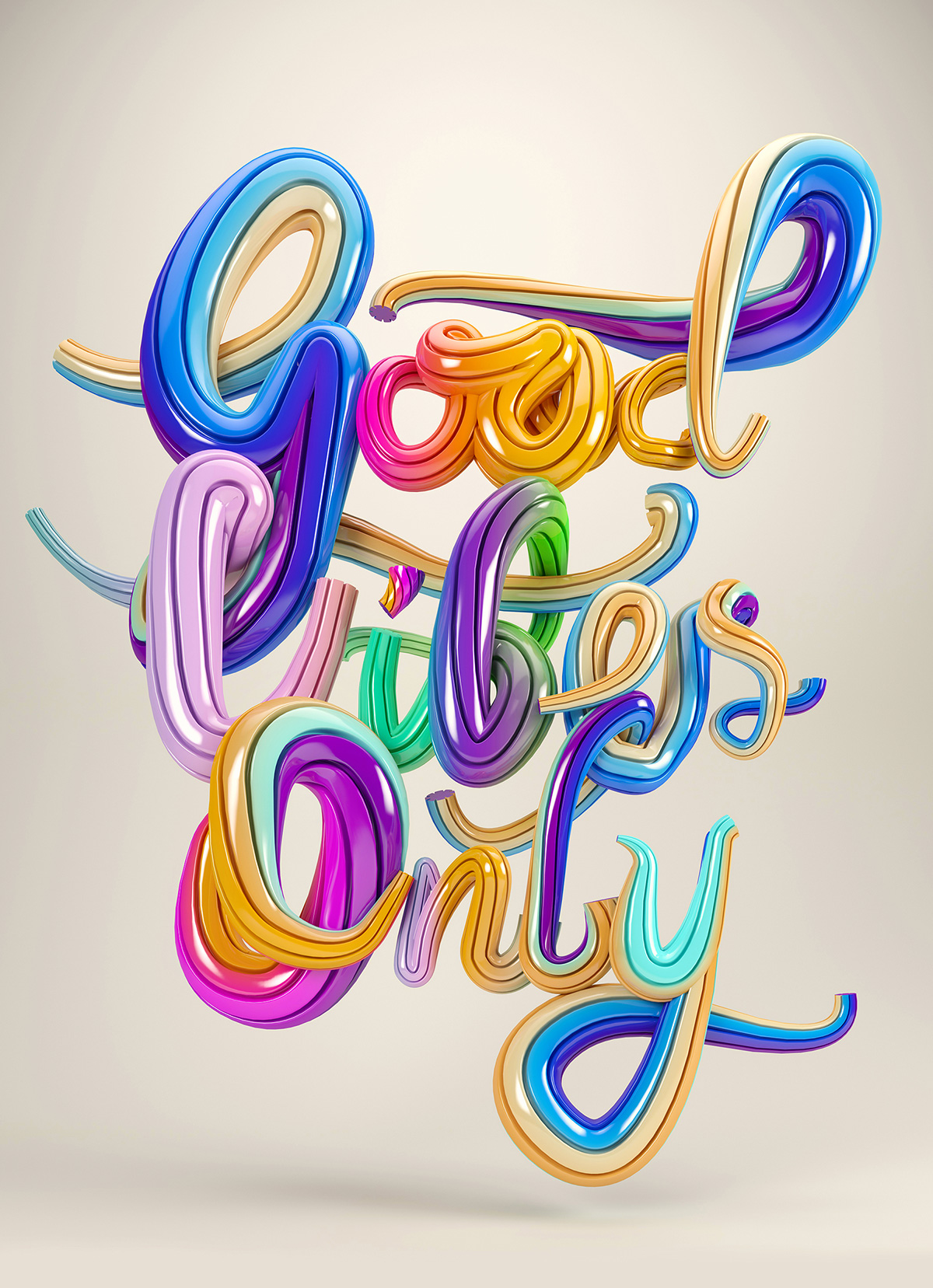good vibes only ben fearnley cg artist designer