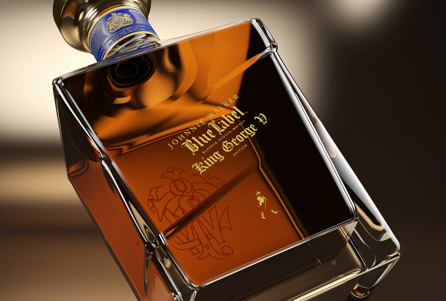 CG JOHNNIE WALKER - BLUE LABEL KING GEORGE EDITION