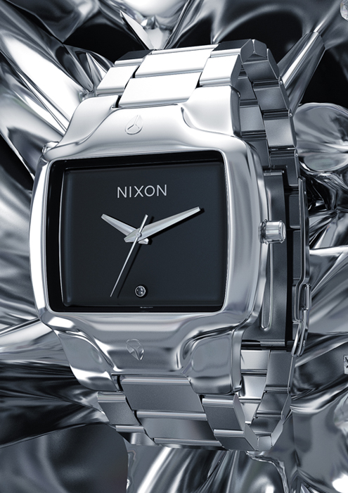 NIXON - CGI KEY VISUALS AND PRODUCT SHOTS