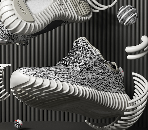 ADIDAS YEEZY BOOST - CG VISUALS