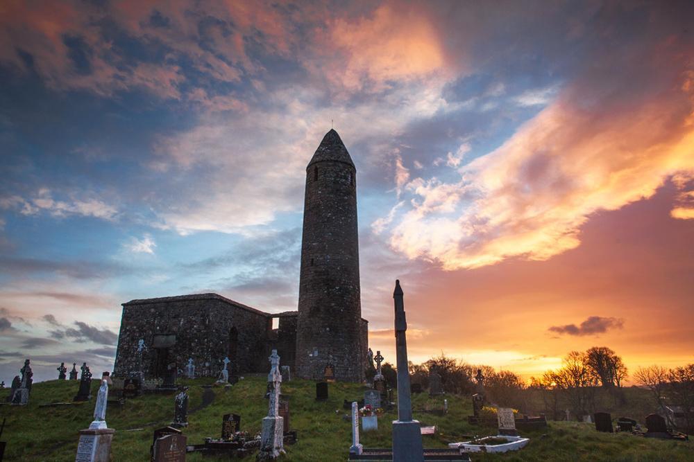 Turlough Round Tower, Mayo. © Michelle McCarron