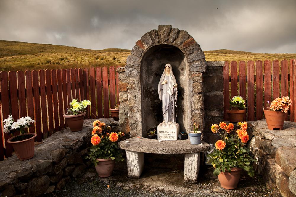 Statue of Mary, Mayo, Ireland © Kevin Kerr Photography