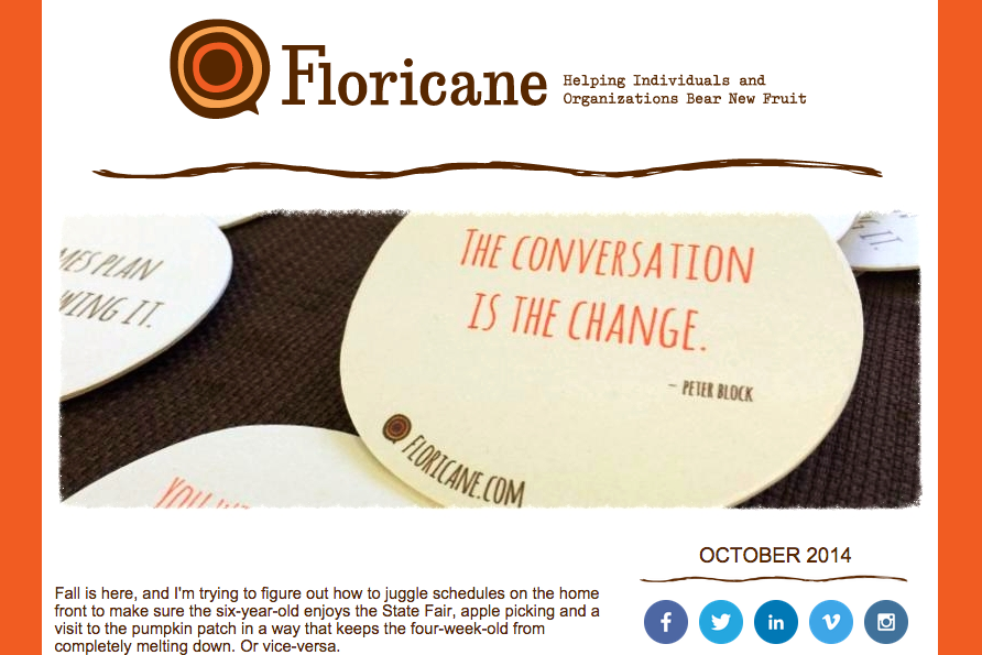 October Newsletter Floricane